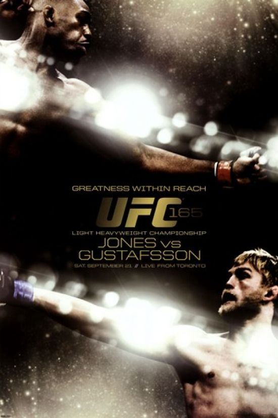UFC - Jones vs. Gustafsson Poster Print (24 x 36) - Item # PYRPAS0485 - Posterazzi