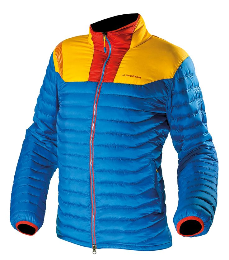 -- Zoid Down Jacket Blue -- The Zoid Down Jacket is the perfect balanced combination of lightweight and insulation.