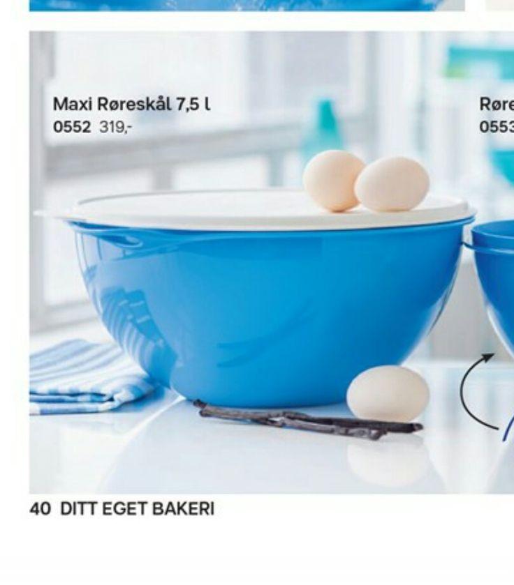 Tupperware bakebolle (maxi rørebolle)