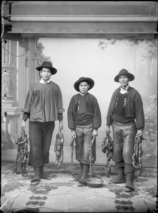 Choriceros de la alberca salamanca hacia 1915 col for Imagenes de la alberca salamanca