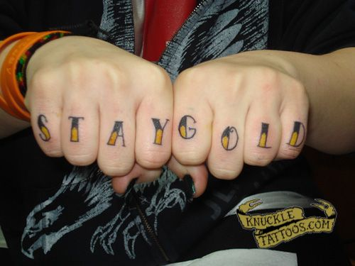 1000 images about knuckle tattoos on pinterest fonts for Knuckle tattoo font
