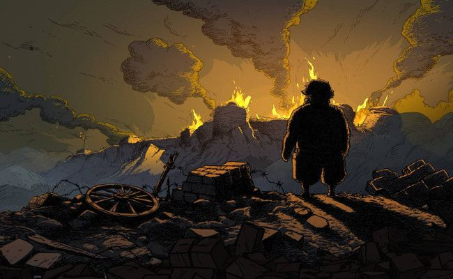 #ValiantHearts wants to show us that war isn't caused by super villains, and their defeat changes nothing in the grand scheme of things. However, the presence of a super villain in the story still detracts from the harsh reality the game wants to explore. #GAMES