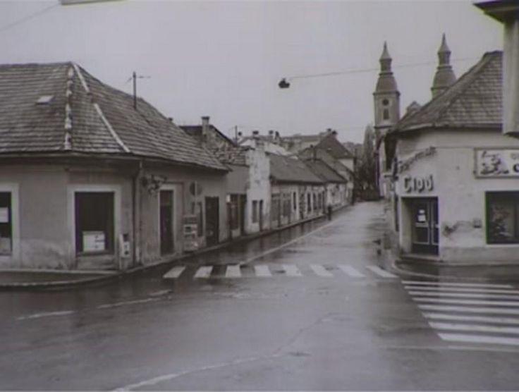 Eger, Sándor Imre út 1970-es évek