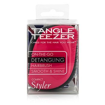Compact Styler On-the-go Detangling Hair Brush - # Pink Sizzle