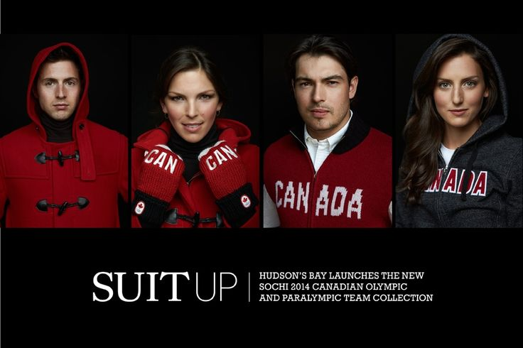 Hudson's Bay launches the new Sochi 2014 Canadian Olympic and Paralympic Team collection | B Insider #HBCOlympics