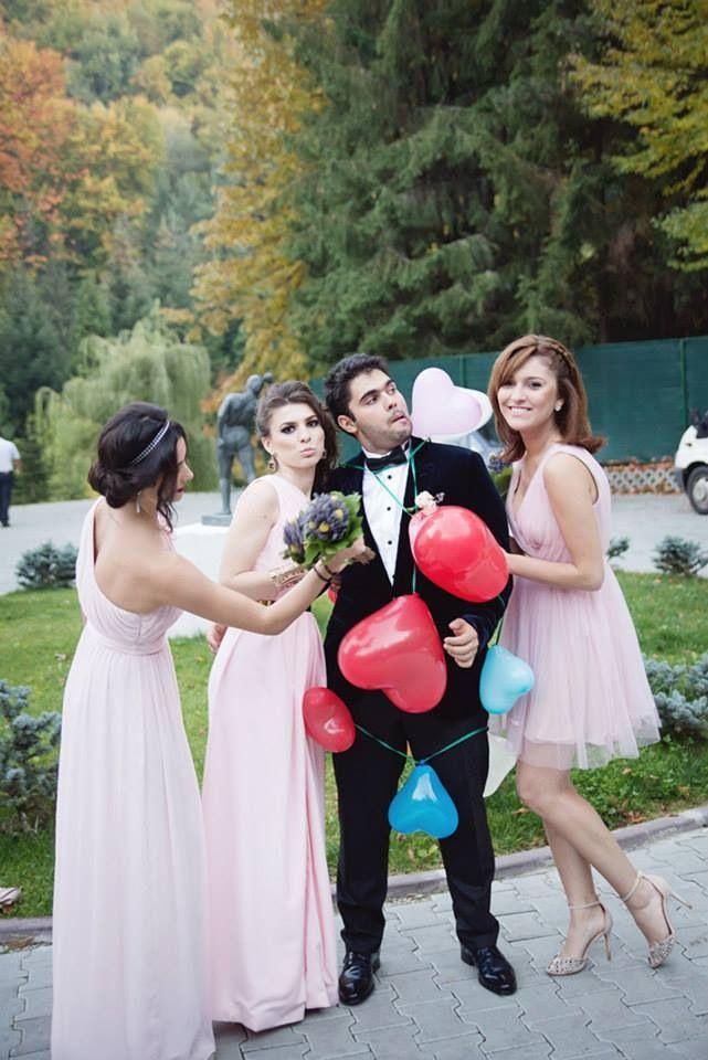 Bridemaids take control