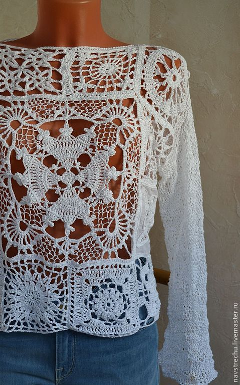 Crochet blouse inspiration