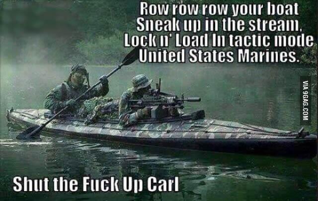 Shut up Carl! - 9GAG
