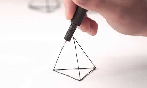 Draw In The Air With The LIX 3D Printing Pen | http://www.hashslush.com/draw-air-lix-3d-printing-pen/ | #TECH