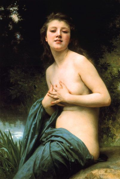 William Adolphe Bouguereau - Spring airs