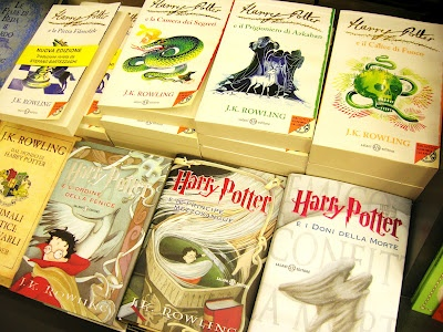 The Italian Covers of Harry Potter!