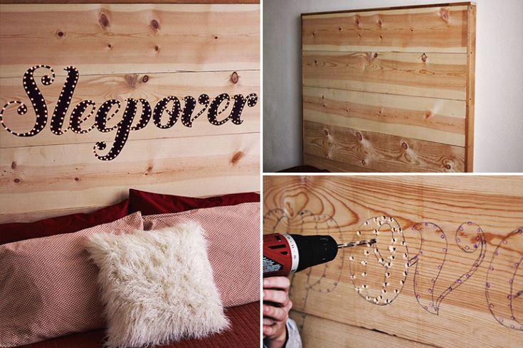 DIY: 5 cabeceiras para cama que você mesma pode fazer