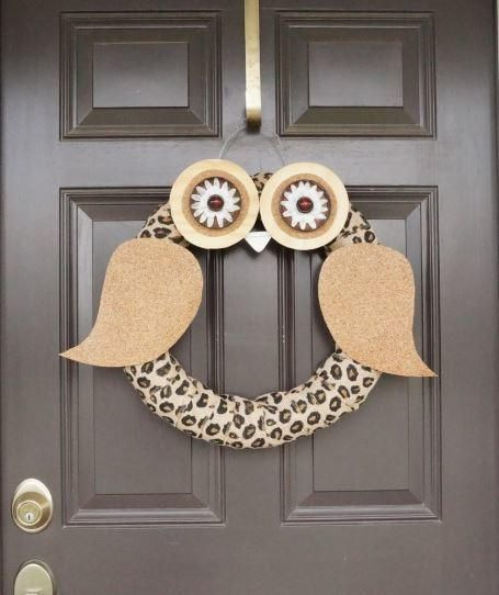 What a Hoot Owl Wreath