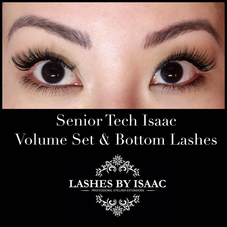 Who said you can only do extensions for your top lashes? Never enough eyelashes! Check out our work on bottom eyelash extensions. #eyelashextensions #volumelashes #lashes #lashesbyisaac