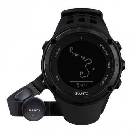 The Suunto Ambit2 is the GPS for explorers and athletes. It has all you need for outdoor sports - navigation, speed, heart rate, altitude, weather conditions and features for running, biking and swimming. There are thousands of Suunto Apps available to add new functionalities to your watch. It's packed in a glass fiber reinforced casing with a battery life of 16/50 hours, making the Ambit2 ready for any adventure.