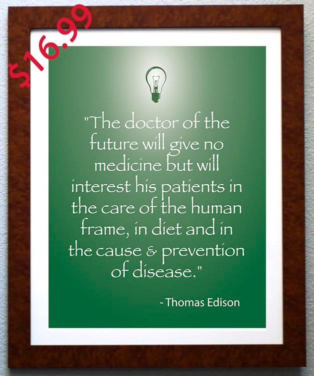 chiropractic or holistic office decor edison quote artwork for holistic office by kremerprintanddesign 1699 art force office decoration