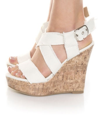 Oooohh wedges would be so much easier than heels in the garden...maybe I should try find some instead. Good idea!