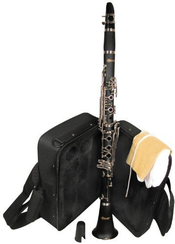 Mirage TTC50WA Bb Woodgrain Clarinet with Case. Ebony Wood grain finish Nickel-silver keys. Deluxe Case, soft with Backpack Straps. Mouthpiece and Reed Case. FREE DELIVERY $197.41