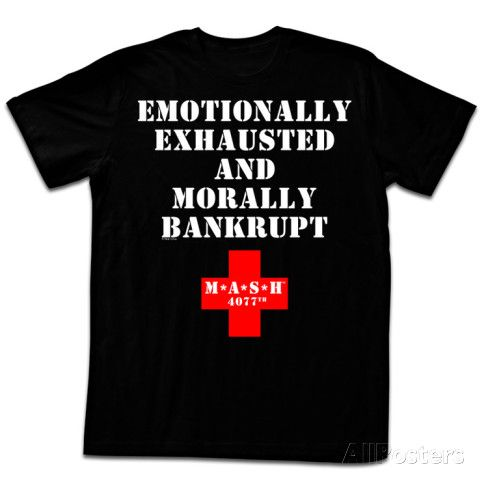 M.A.S.H. - Exhausted T-shirts at AllPosters.com