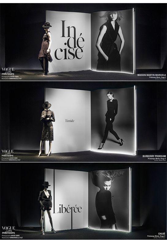 Vogue Love Printemps: The Windows