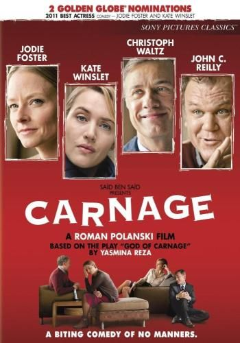 Carnage, Movie on DVD, Comedy Movies, Drama