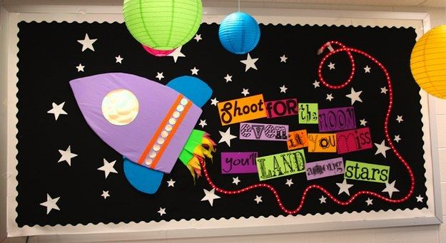 """14. Students will swoon for this """"out of this world"""" space-themed class. So cool! 