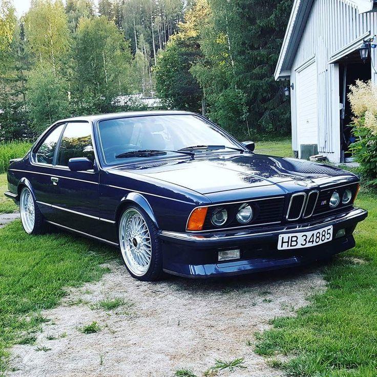 My own 1985 BMW M635csi.