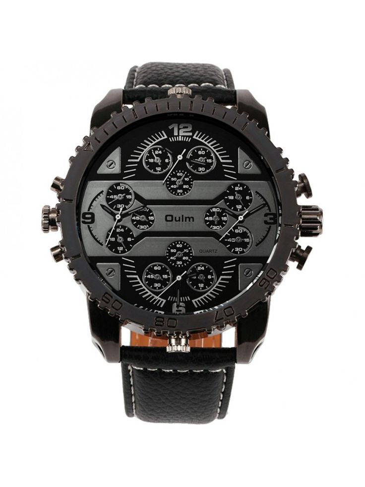 This rugged cool men's watch oozes machismo.