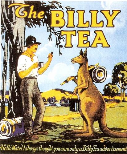 Poster For Billy Tea, an Australian Favorite.    suzilove.com