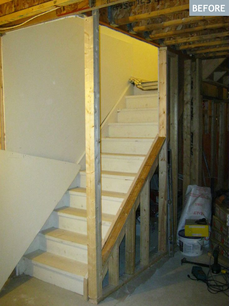 Basement Stairs Ideas: 278 Best From Dungeon To Dream Images On Pinterest