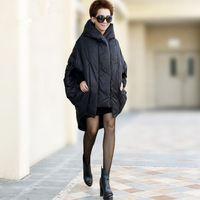 Марка Qualited 2016 Толщиной С Капюшоном Зимой Вниз Пальто Италия Мода женщины Куртка Зимняя Куртка Женщина Долго Белая Утка Вниз Парки пальто