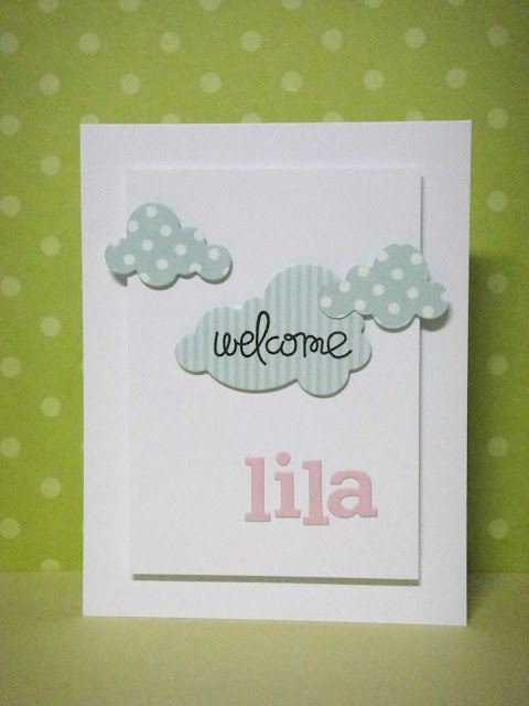 three umbrellas: welcome, Lila!