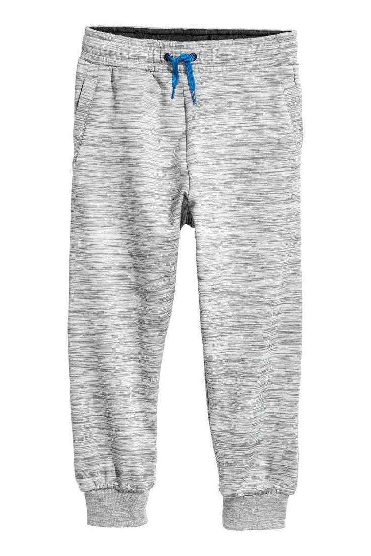 Sports trousers - Grey marl - Kids | H&M