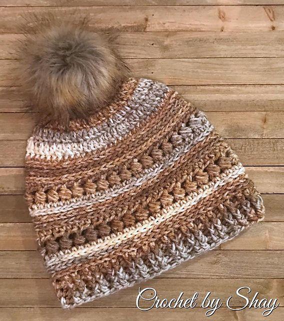 Bead Stitch Hat – Hobby Lobby I Love This Yarn! Birchwood Cottage