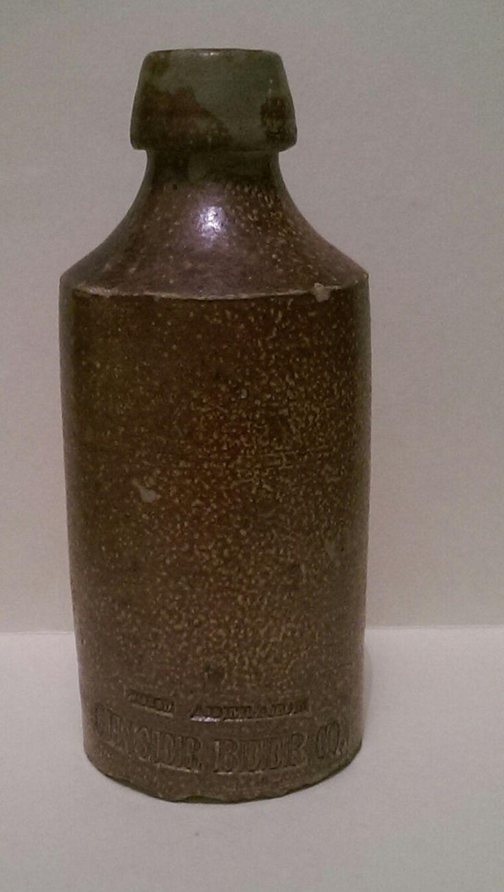 The Adelaide Ginger beer co impressed ginger beer bottle