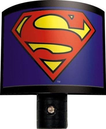amazoncom superman logo night light home kitchen