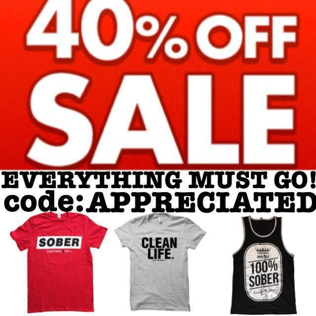 """everything must go! expanding and clearing.... click link in bio to redirect to our site to get this at 40% off using code """"APPRECIATED"""" @ SubstanceForYou.com   #recoveryispossible #sober #soberlife #sobriety #sobermovement #Soberissexy #partysober #recovery #addictionrecovery #recoveryroad #alcoholicsanonymous #mentalhealth #drugfree #eatingdisorders #advocate #bullying #selfhelp #amwriting #reading #author #awareness #clean #cleanlife #cleanliving #suicide #SubstanceForYou #Lifestyle"""