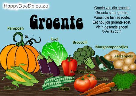 Home School: Grade R - Week 17 - Happy Doo-Da - Vegetables