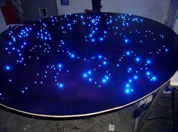 Sternenhimmel Selber Bauen led sternenhimmel 200 lichtfaser bad wellness schlafzimmer