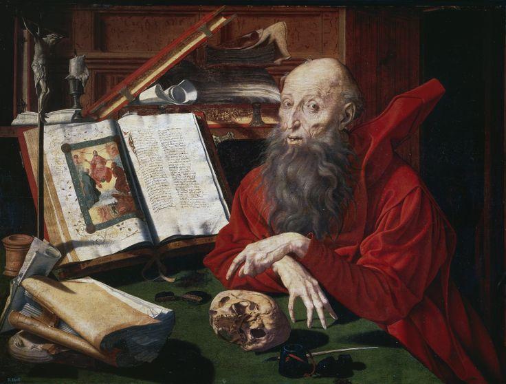 Marinus van Reymerswaele - Saint Jerome