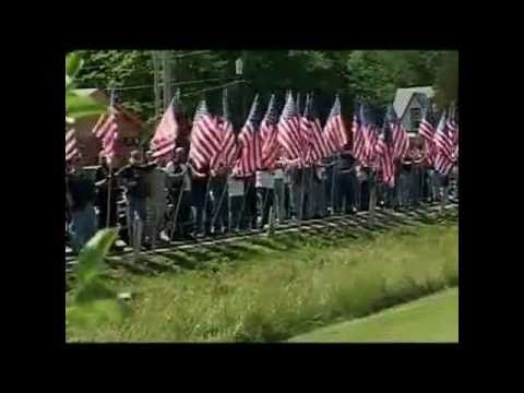 Veterans Protect a Fallen Soldier's Funeral from the Westboro Baptist Church