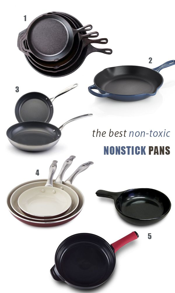 The Best Non-Toxic NonStick Pans, How to Shop For Them + How to Use Them Safely in your Home | Feed Me Phoebe