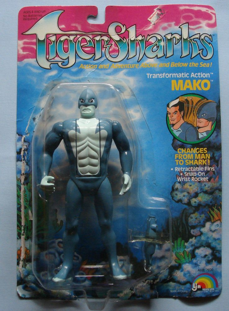 Mako, from LJN's line of action figures based on the ...