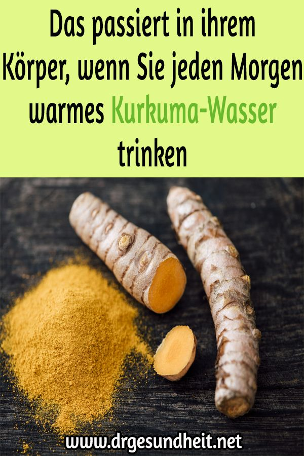 This happens in her body when you drink warm turmeric water every morning …