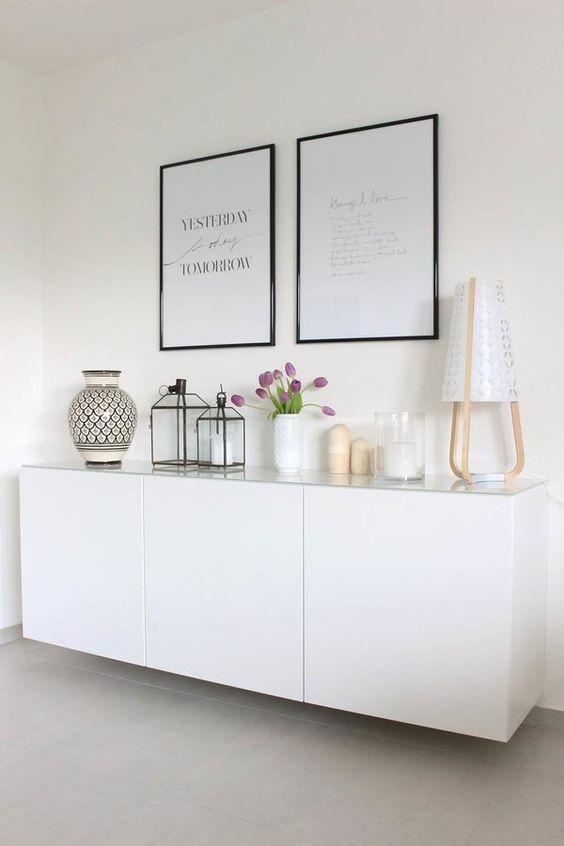 Ikea Besta Gute Aufbewahrungsmglichkeiten Viel Stauraum Sideboard SkandinavischEinrichtungsideen WohnzimmerBilder