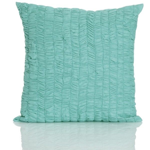 Throw Pillows Nursery : Nordstrom Rack Ruched Herringbone Throw Pillow ($9.98) liked on Polyvore featuring home, home ...