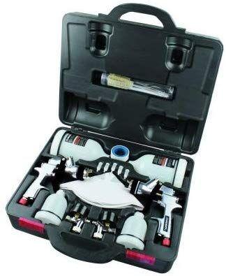 Husky HVLP and Standard Gravity Feed Spray Gun Kit