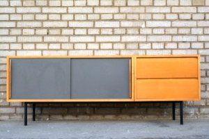 Sideboard aus Ahorn von Kurt Thut