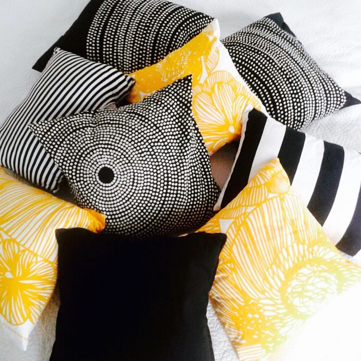 @KiitosMarimekko: Redecorate your home this summer with these fun and chic pillows! All available at https://www.spotitbuyit.com/kiitosmarimekko/posts/5581a19c69702d2a32791a01/