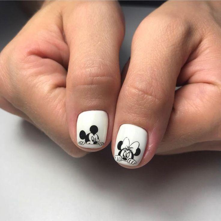 50+ süße Nail Art Designs für kurze Nägel 2019 – Nail Design
